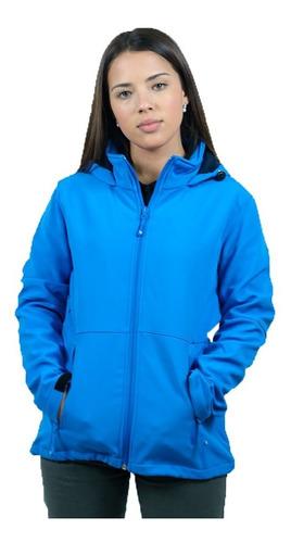 Campera De Neopreno Dama Azul Francia - Textilshop