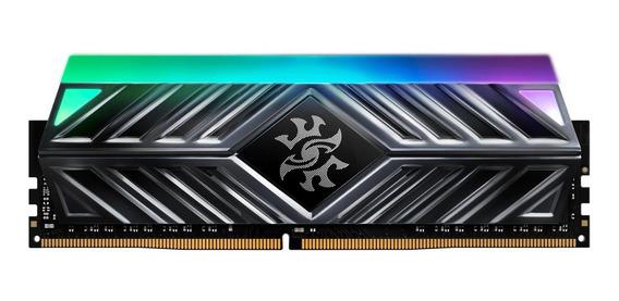 Memoria Ram 16gb Xpg Spectrix D41 Tuf Gaming Rgb 3200mhz (2x8gb) 288-pin Pc4-25600 U-dimm Retail Kit Black (ax4u320038g1