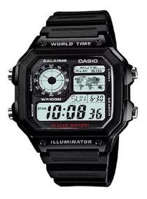 Relógio Casio Masculino Digital Ae1200wh-1avdf