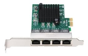 Cartão Servidor Rede 4 Portas Gigabit 1000m Pci - E Ethernet