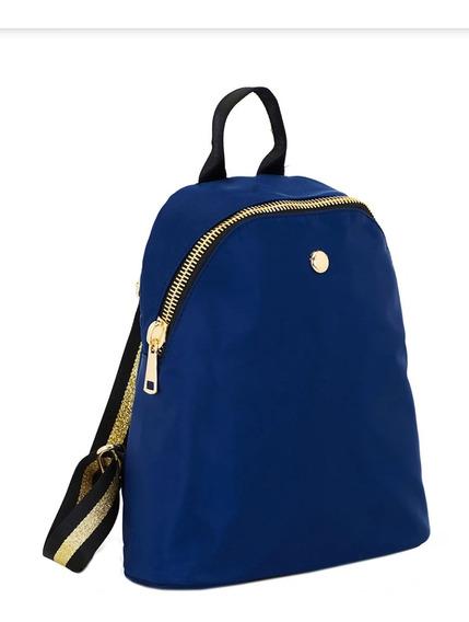 Mochila Cartera Jackie Smith Dear Backpack Azul Usada