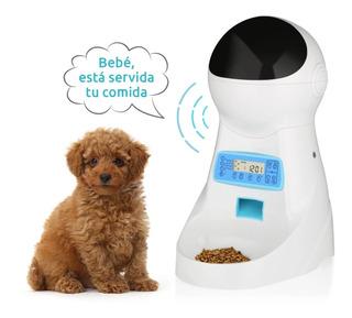 Dispensador Alimento Automatico Audio Y Parlante R5616
