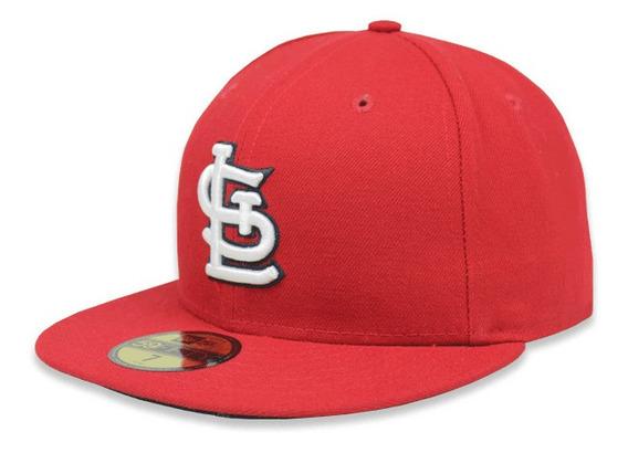 Gorra New Era 5950 Mlb San Luis Cardinals Game Rojo