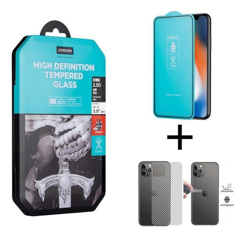Vidrio Templado Alta Definicion Joyroom iPhone 11 / Xr
