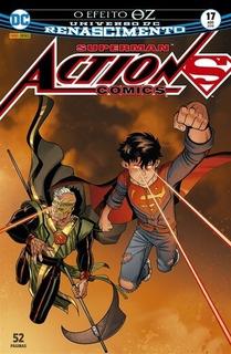 Hq Superman Action Comics Nº 17 Ed Ago/2018 - O Efeito Oz