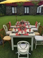 Renta Mesas Sillas Vintage Periqueras Lounge Eventos Morelos