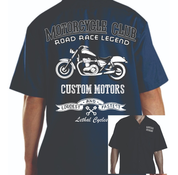 Camisa Workshirt- Mecânico Lethal Cycles Modelo 11