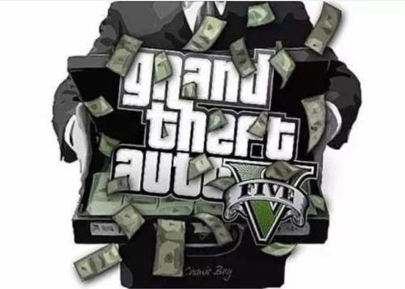 Gta V Online Pacote De Dinheiro De 2 Milhões+ Rp Bônus Ps4