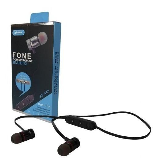 Fone De Ouvido Bluetooth Com Microfone Sem Fio Knup Kp-445