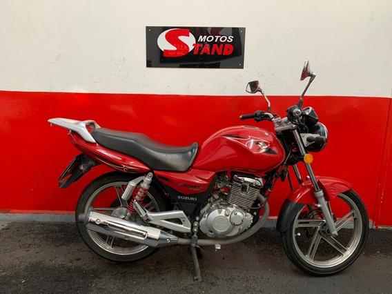 Suzuki Gsr 150i 150 I 2016 Vermelha Vermelho