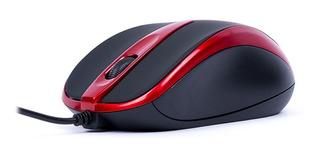 Mouse Ergonomico Optico Usb 3 Botones 1000dpi Naceb Na-099