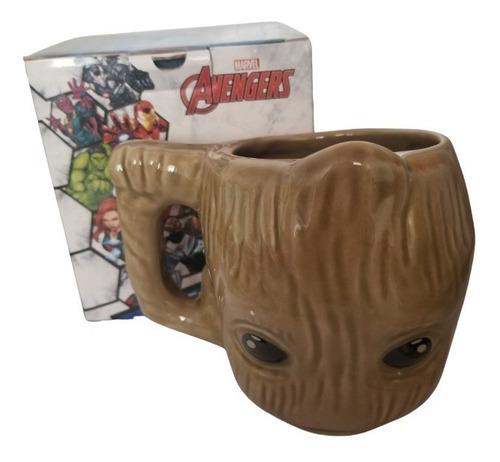 Caneca 3d Baby Groot Vingadores Avengers - Original Marvel