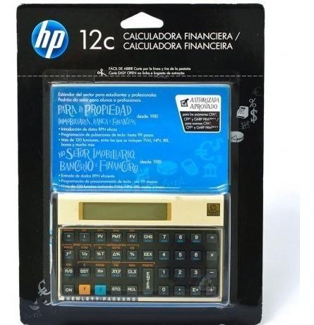 Calculadora Financeira Hp 12c Gold 100% Original Hp12c