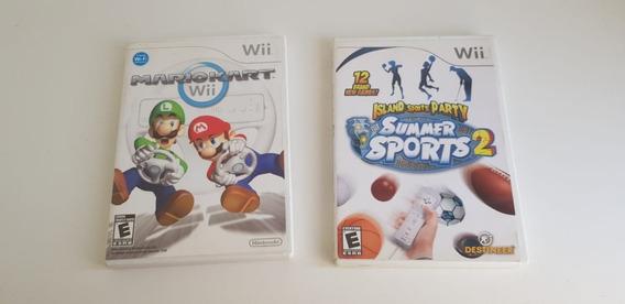 Mario Kart Wii E Summer Sports 2