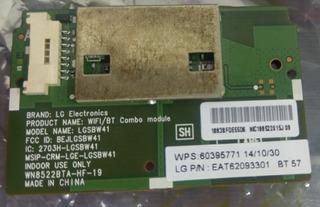 Lg Tv Wifi & Bluetooth Combo Modulo Lgsbw41 Eat62093301