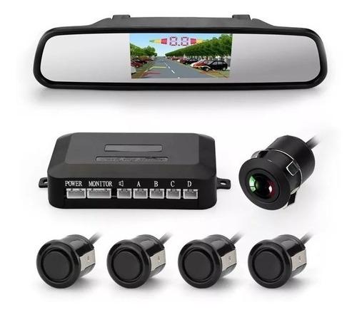 Imagen 1 de 6 de Sensor De Estacionamiento Espejo Cámara Alta Sensibilidad
