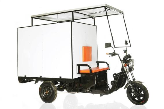 Primax Triciclo Cargo Eletrico Solar
