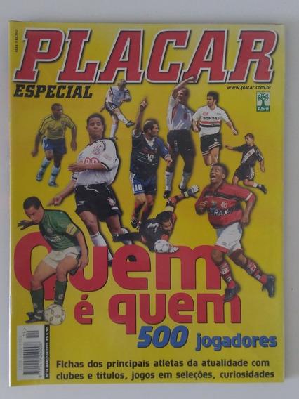 Revista Veja Minha Coleção Placar Quem É Quem 500 Jogadores