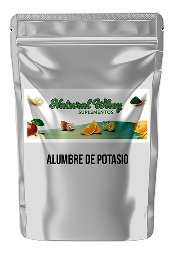 Alumbre De Potasio 5 Kilos + 1 Kilo Bicarbonato De Sodio