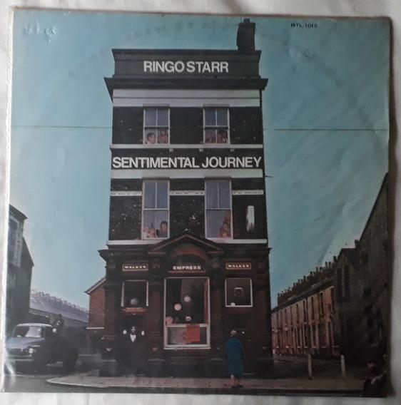 Lp Ringo Starr/sentimental Journey/1970/bom Estado