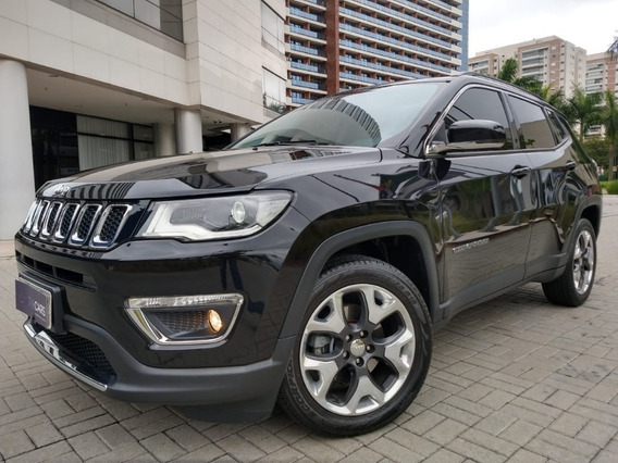 Jeep Compass - 2018/2018 2.0 16v Flex Limited Automático
