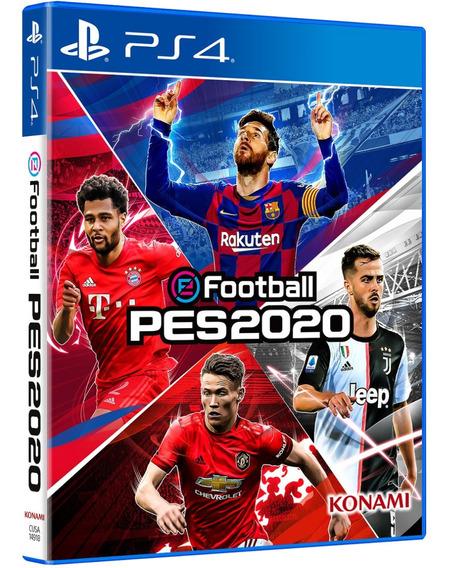 Jogo Pes 2020 Pro Evolution Ps4 Disco Fisico Novo Português