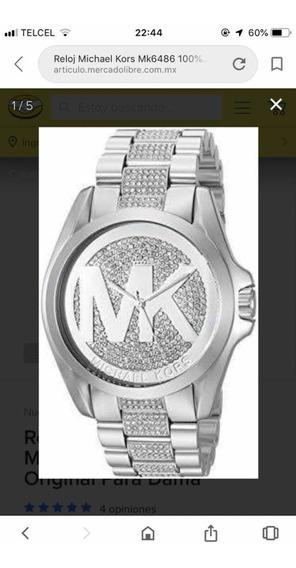 Reloj Dama Michael Kors Con Suarovskys Nuevo