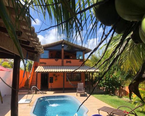Casa 3/4 Com Piscina, Condomínio Em Imbassay! - Ca00031 - 69341377