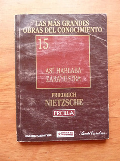 Libro Asi Hablaba Zaratustra