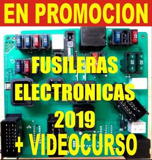 Esquemas De Fusileras Electronicas Automotrices 2019 + Curso