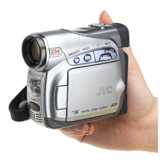Mini Camera Jvc Gr-d290 Mini Dv Digital Clear Lcd