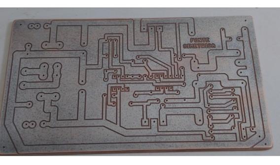 Placa P/ Fonte Simétrica Linear Regulável 0 ~ + / - 24vcc