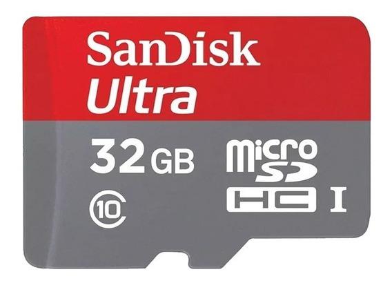 Cartão Memoria Sandisk 32gb Micro Sd Para Câmera Ip Wifi
