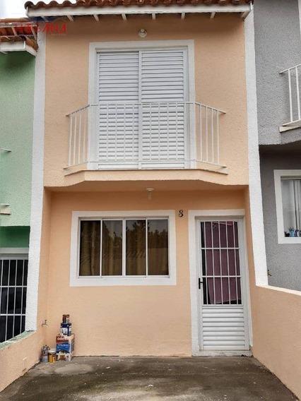 Sobrado Com 2 Dormitórios À Venda, 55 M² Por R$ 165.000 - Estância Lago Azul - Franco Da Rocha/sp - So0897