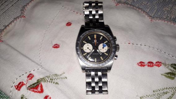 Tissot Seastar Chronograph Lemania 870 1277 A Corda Anos 70