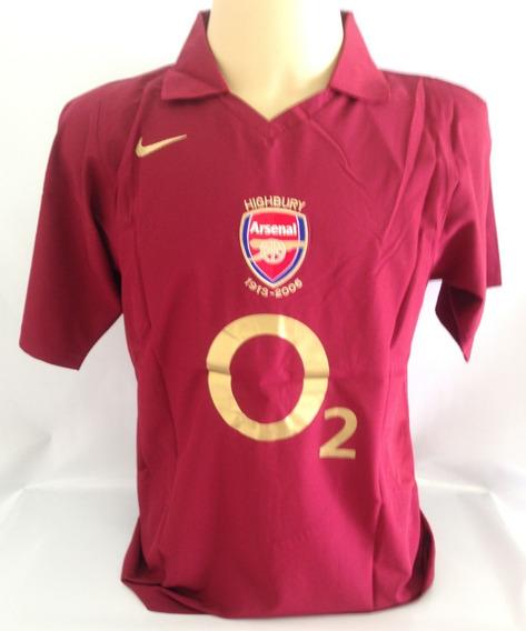 Arsenal Home Highbury Retro 05/06 #14 - Tamanho M