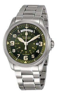 Reloj Victorinox Infantry Automatico #241374 Day Date Nuevo