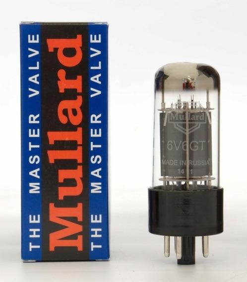 Válvula Mullard 6v6gt Power Potência Amplificador Par Casado