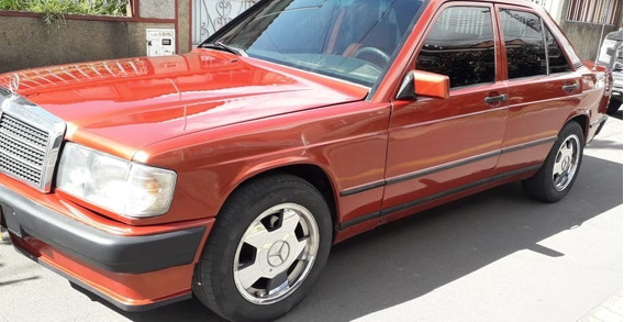 Mercedez Benz 190e 1900 Naranja 1983
