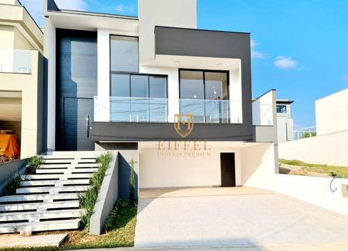 Casa Com 3 Dormitórios À Venda, 197 M² Por R$ 930.000,00 - Condomínio Portal Da Primavera - Sorocaba/sp - Ca0135