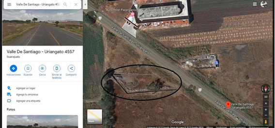 Terreno De 1,645 M2 En Yuriria, Guanajuato.