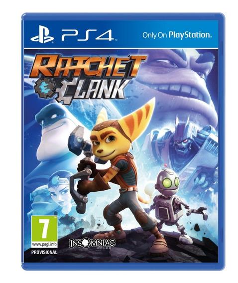 Ratchet & Clank Ps4 Mídia Física Novo Lacrado Português 12x