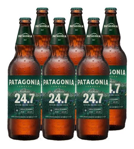 Cerveza Patagonia 24.7 710 Cc Pack X6
