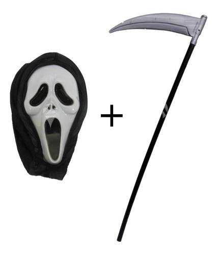 Imagem 1 de 3 de Fantasia Pânico Halloween Com Foice
