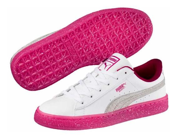 Promoção: Tênis Puma Original ( Branco E Rosa )