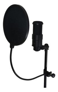 Filtro Antipop Elefir P/ Microfono Condenser Estudio Vivo