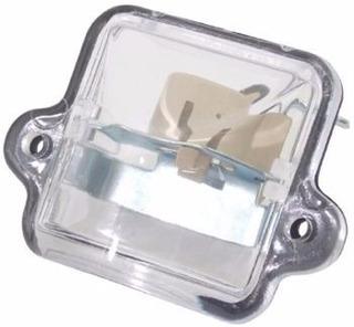 Lanterna Placa Fusca ( Lente + Soquete )