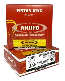 Juego De Aros Ford Focus Ecosport 2.0 16v Cjba Duratec