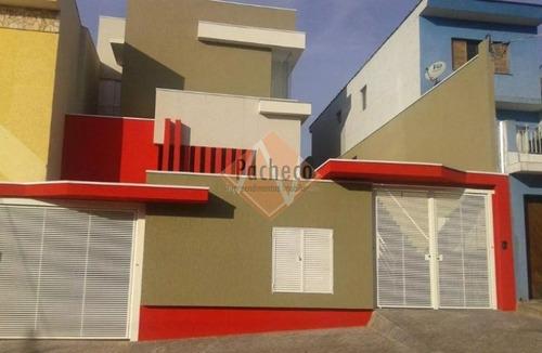 Sobrado Cond. Fechado Na Penha, 130 M², 03 Dormitórios, 01 Suíte, 02 Vagas, R$ 530.000,00 - 2050