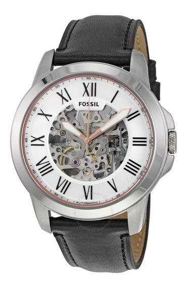Reloj Fossil Grant Leather Black